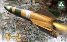 1/35 WWII GERMAN SINGLE STAGE BALLISTIC MISSILE V-2