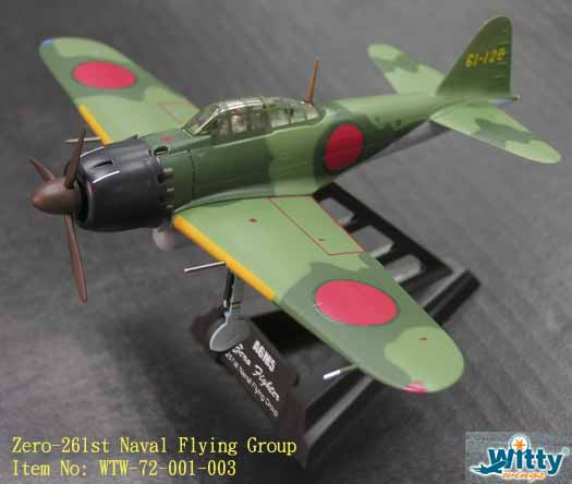 "1/72 ZERO AGM5 ""261ST NAVAL FLYING GROUP"""