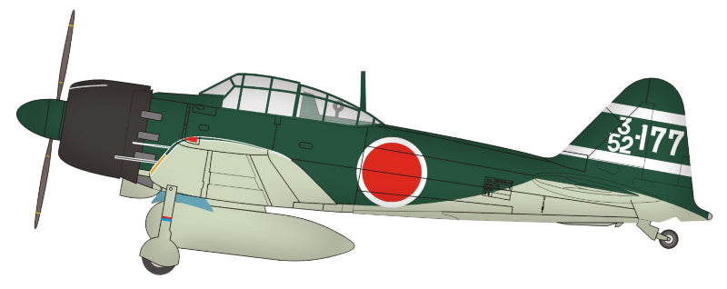 1/72 ZERO A6M5C 352ND NAVAL FLYING GROUP