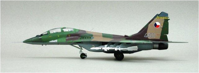 1/72 MIG 29US 11TH FIGHTER REGIMENT, ZATEC AIR BASE, CZECHOS