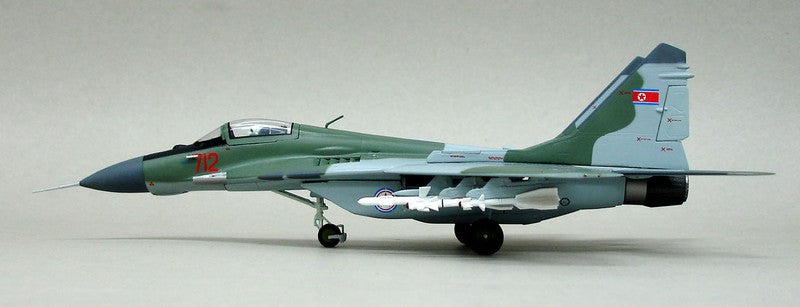 "1/72 MIG 29 FULCRUM ""NORTH KOREA AIR FORCE"""