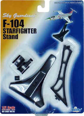 1/72 POSITIONAL STAND FOR F-104 STARFIGHTER