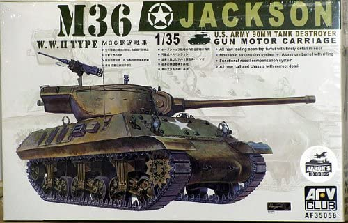 1/35 M36 TANK DESTROYER - JACKSON GUN MOTOR CARRIAGE by AFV CLUB