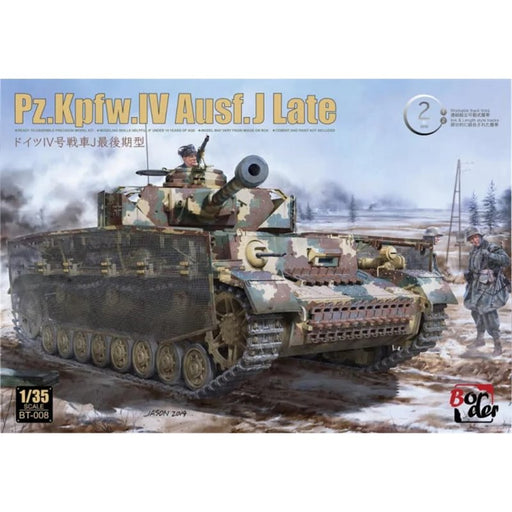 1/35 WWII German Pz.Kpfw.IV Ausf.J Late Border Models BT008
