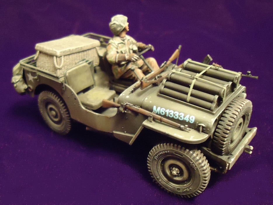 1/35 BRITISH AIRBORNE 75mm PACK HOWITZER & 1/4 TON TRUCK BRONCO MODELS CB35163