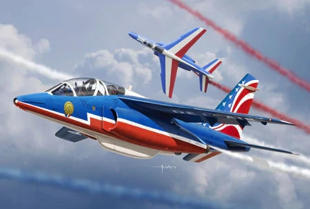 1/48 ALPHA JET PATROUILLE DE FRANCE 2017 (PACK OF 2 KITS) K48064