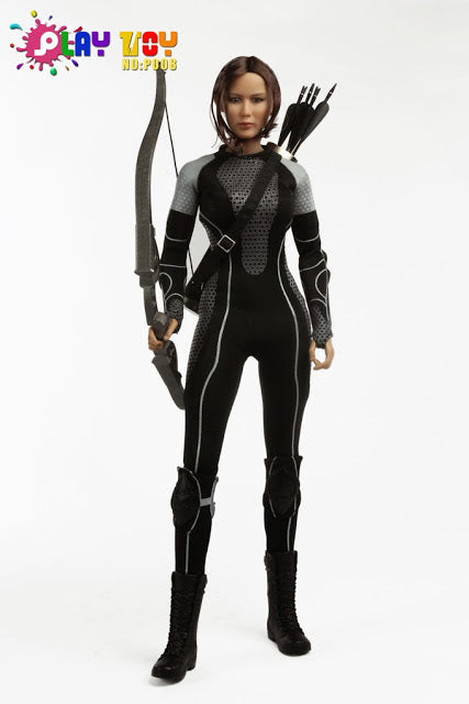 1/6 ATHLETICS GIRL - WITH ARROWS & BOW