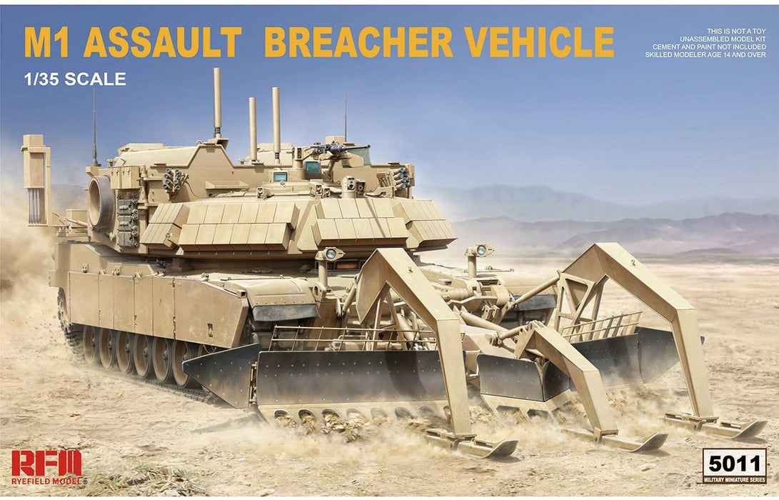 1/35 M1 ASSAULT BREACHER VEHICLE RYEFIELD MODEL 5011