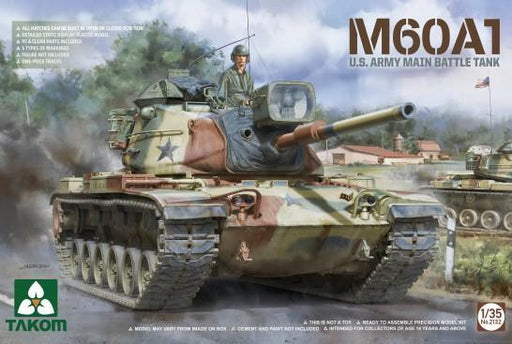 1/35 M60A1 US Army Main Battle Tank