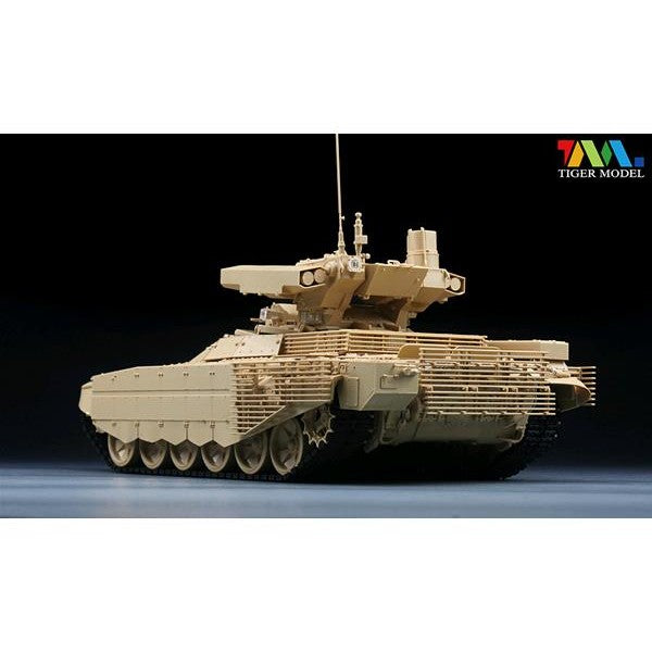 1/35 BMPT-72 TERMINATOR II FIRE SUPPORT COMBAT VEHICLE TIGER MODELS 4611