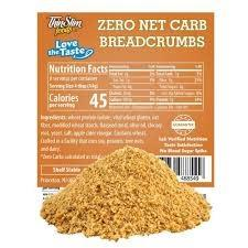 0 Carb Breadcrumbs - 1 TEMPLE NUTRITION