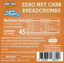 Load image into Gallery viewer, 0 Carb Breadcrumbs - 1 TEMPLE NUTRITION