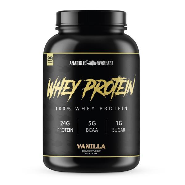 Anabolic Whey Protein - 1 TEMPLE NUTRITION