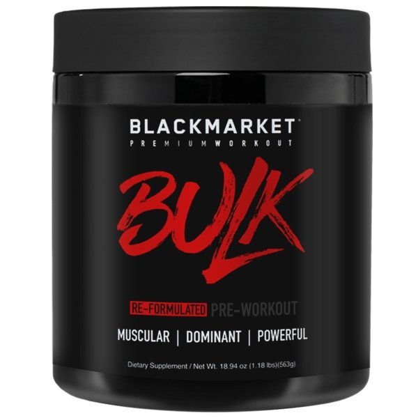 Bulk Pre-Workout - 1 TEMPLE NUTRITION