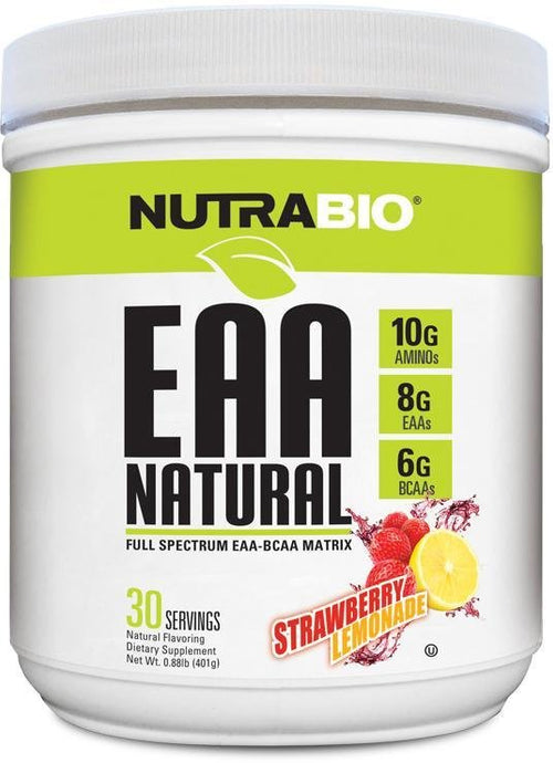 EAA Natural NutraBio - 1 TEMPLE NUTRITION