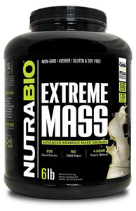 Extreme Mass - 1 TEMPLE NUTRITION