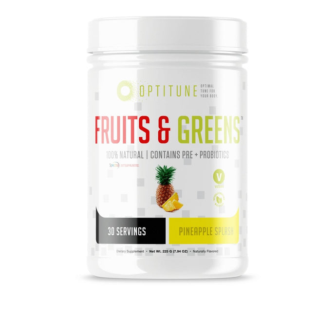 Fruits & Greens Optitune - 1 TEMPLE NUTRITION