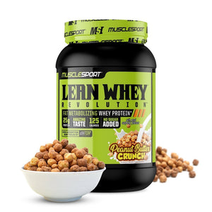 Lean Whey Protein - 1 TEMPLE NUTRITION