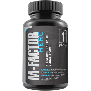 M-Factor Hero M - 1 TEMPLE NUTRITION