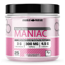 Load image into Gallery viewer, Maniac Pre-Workout - 1 TEMPLE NUTRITION
