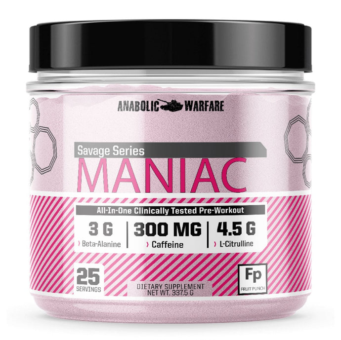 Maniac Pre-Workout - 1 TEMPLE NUTRITION