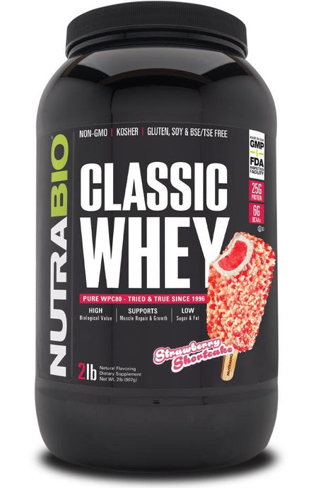 NutraBio Classic Whey - 1 TEMPLE NUTRITION