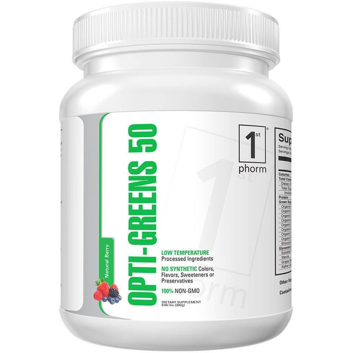 Opti-Greens 50 - 1 TEMPLE NUTRITION