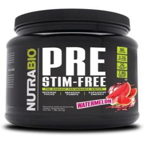 Pre Stim Free Pre-workout NutraBio - 1 TEMPLE NUTRITION