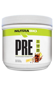 PRE Workout V5 Natural NutraBio - 1 TEMPLE NUTRITION