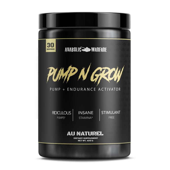 Pump N Grow - 1 TEMPLE NUTRITION
