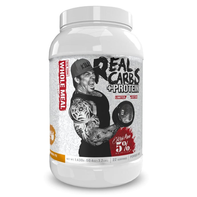 Real Carbs + Protein 5% Nutrition - 1 TEMPLE NUTRITION