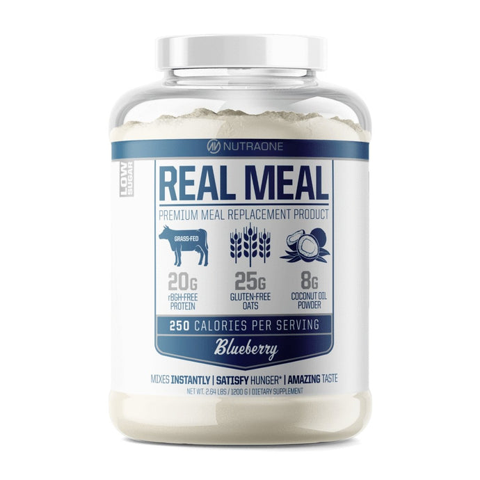 Real Meal Blueberry - 1 TEMPLE NUTRITION