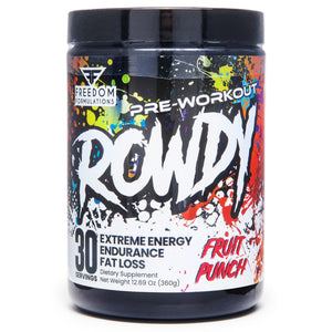 Rowdy Pre Workout - 1 TEMPLE NUTRITION