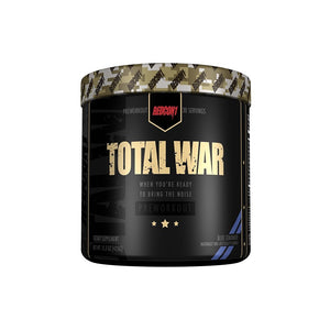Redcon1 Total War Pre-Workout top supplement.  Redcon1 best 30 serving pre workout