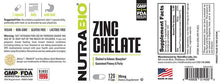 Load image into Gallery viewer, Zinc Chelate - 1 TEMPLE NUTRITION