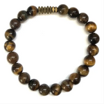 Load image into Gallery viewer, Crew- Men's Beaded Stone Bracelet