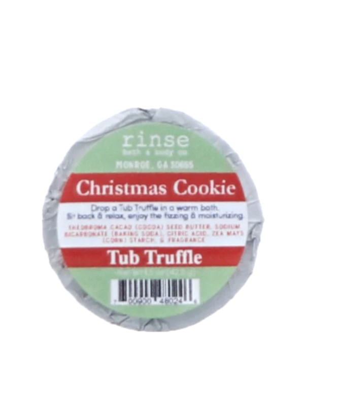 Christmas Cookie Tub Truffle