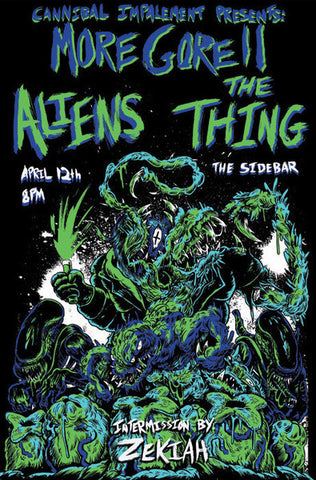 The Thing - Aliens Screen Printed Poster