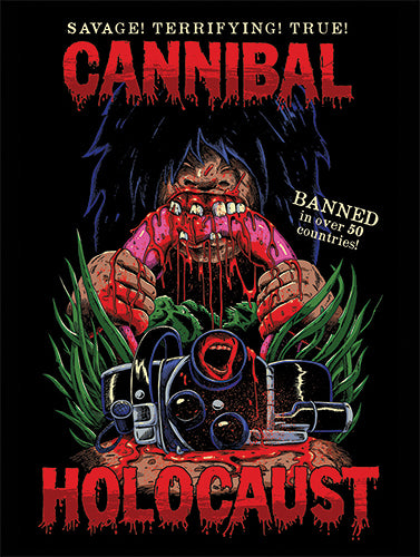 Cannibal Holocaust Sticker