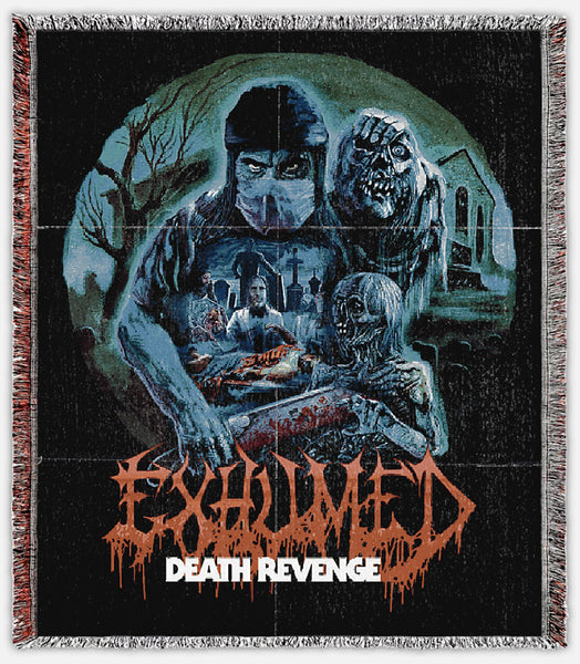 Exhumed- Death Revenge Blanket
