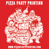 Pizza Party Printing Tote Bag