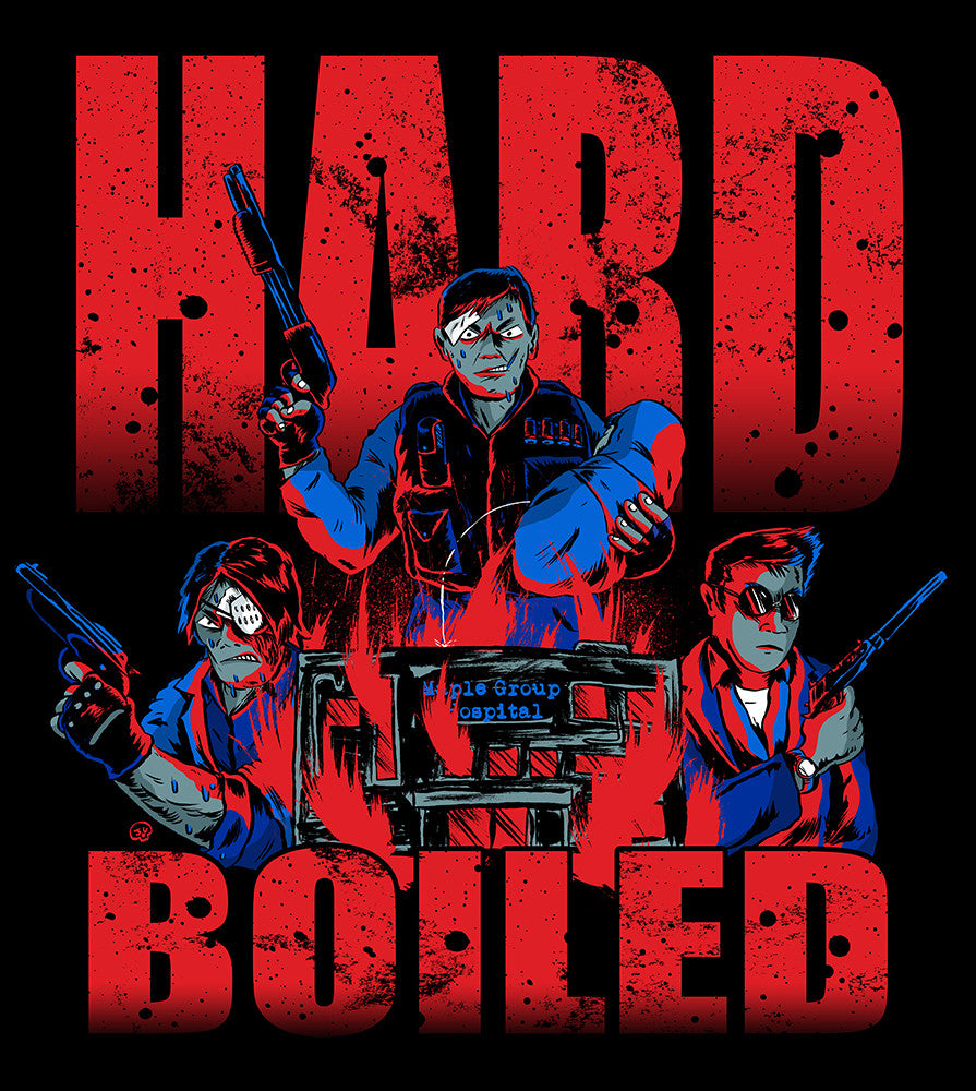 Hard Boiled shirts