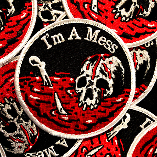 I'm A Mess Patch