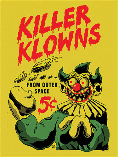 Killer Klowns From Outer Space Sticker