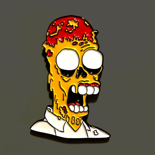 Melting Homer Enamel Pin