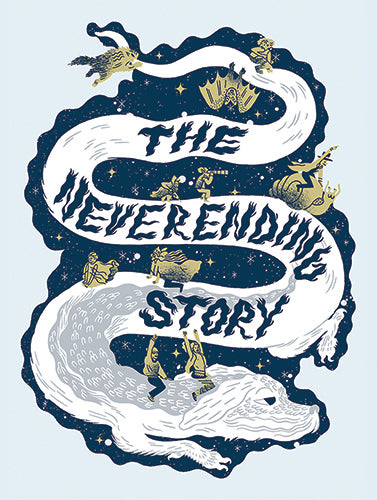 The Neverending Story Sticker