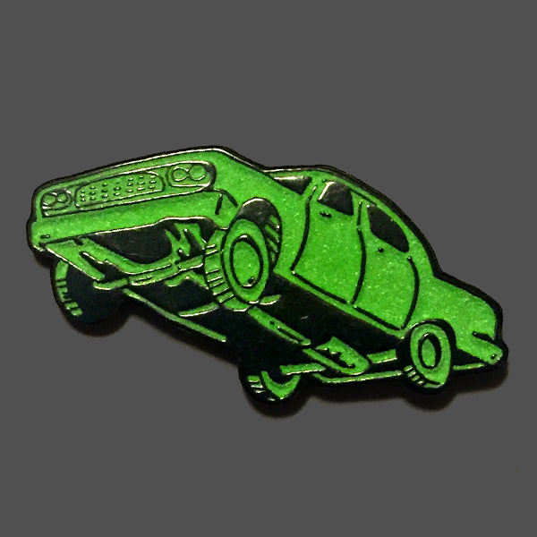 Repo Car Glow-in-the-Dark Enamel Pin