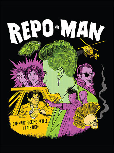 Repo Man Sticker