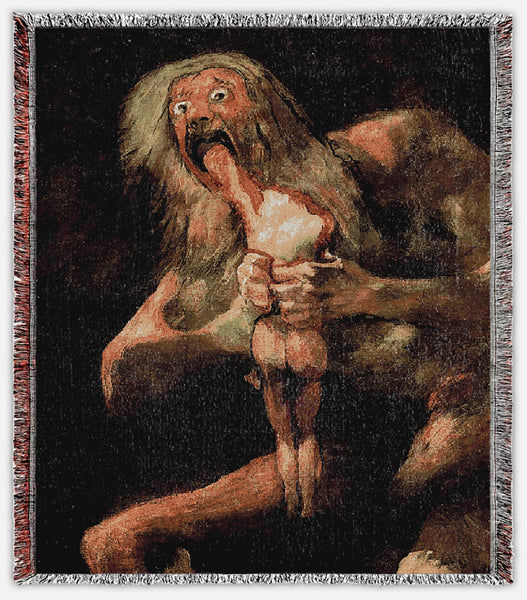 Saturn Devouring His Son Blanket