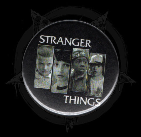 Stranger Things Button